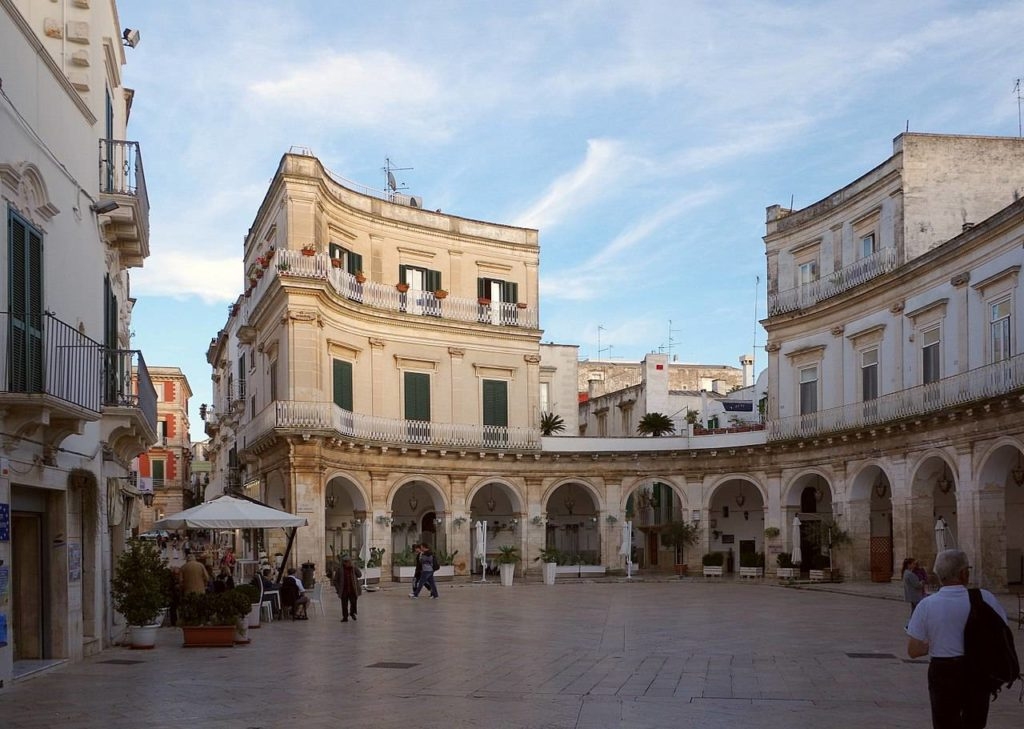 Picasso and the other half of the sky hosted in Martina Franca