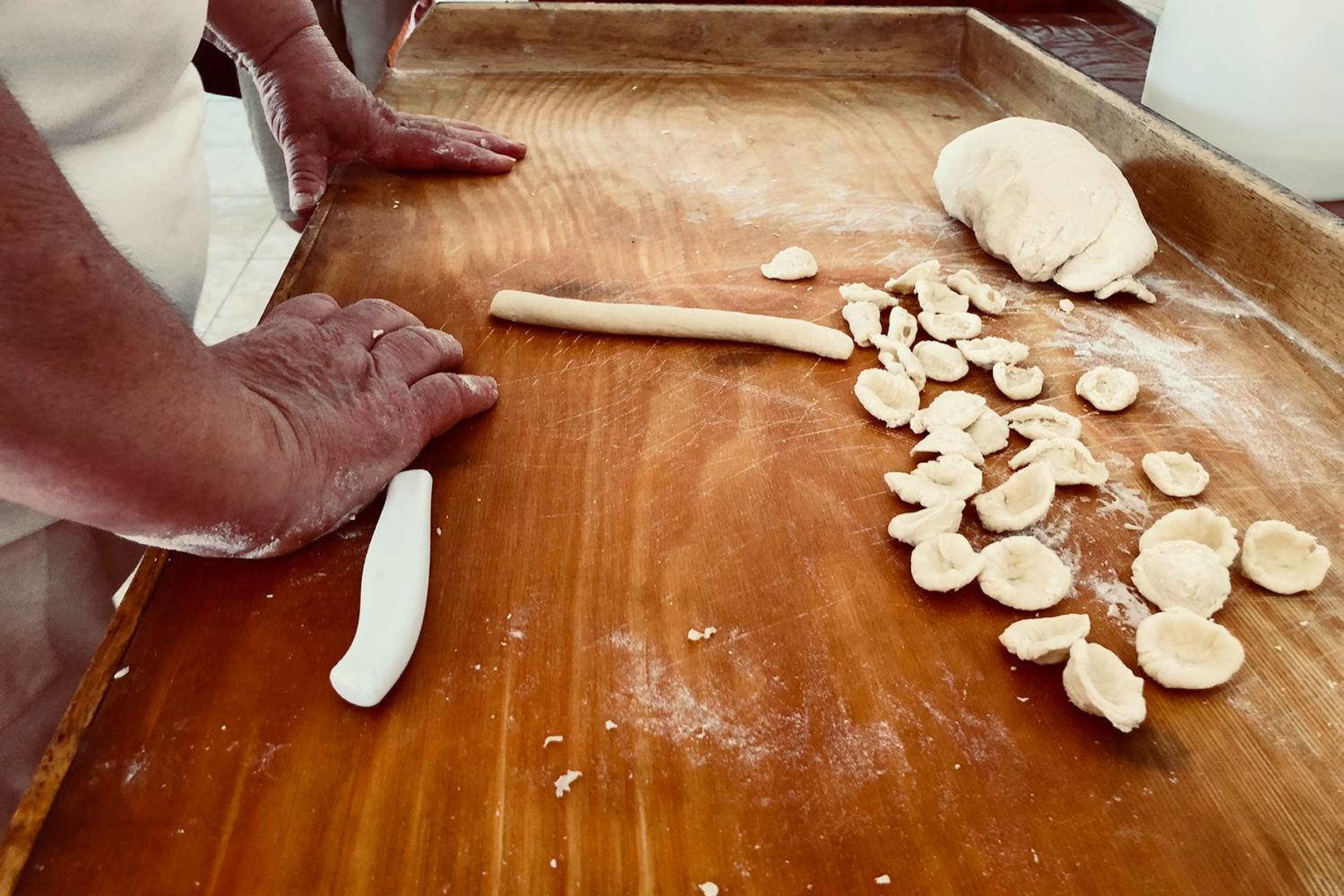 How to make fresh pasta in Puglia