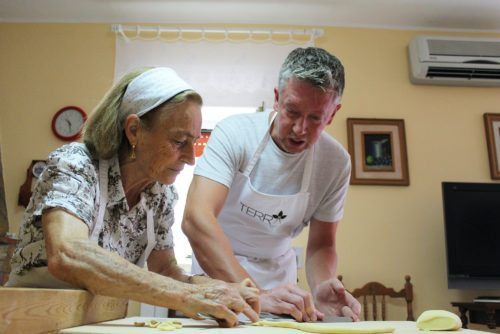 Cooking class Apulia