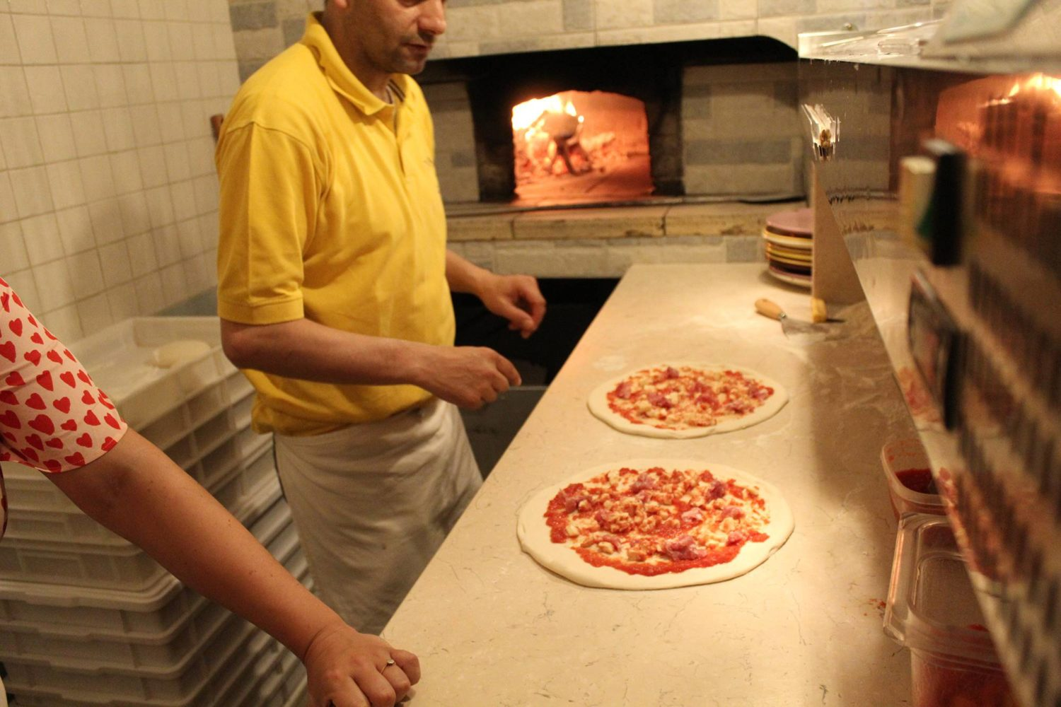 Pizza cookery course in Puglia