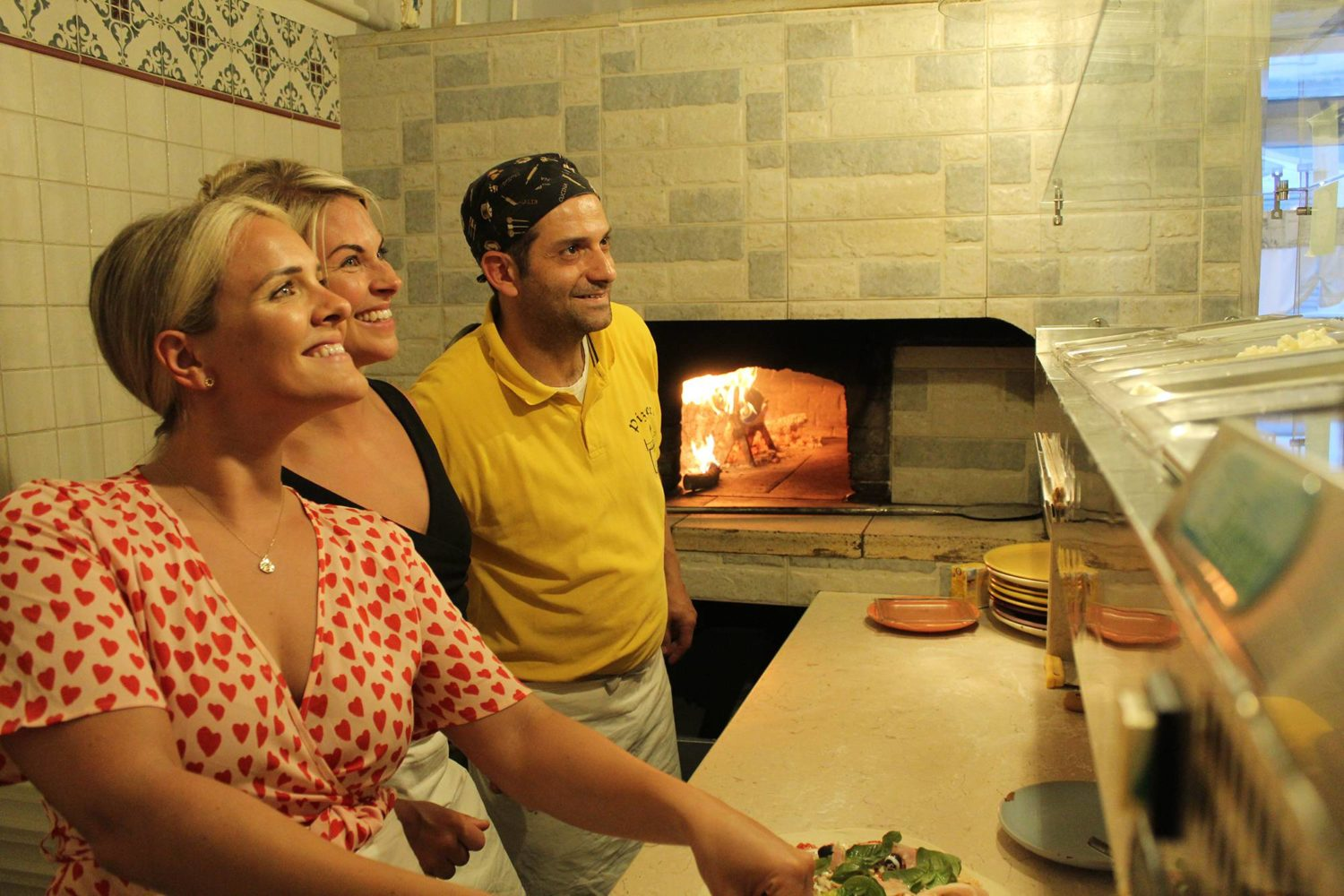 Pizza making with tasting in Puglia