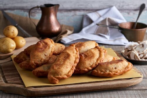 Deep fried panzerotti cooking class puglia