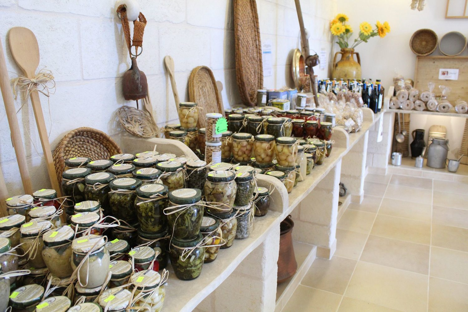 Best products of Apulian farm