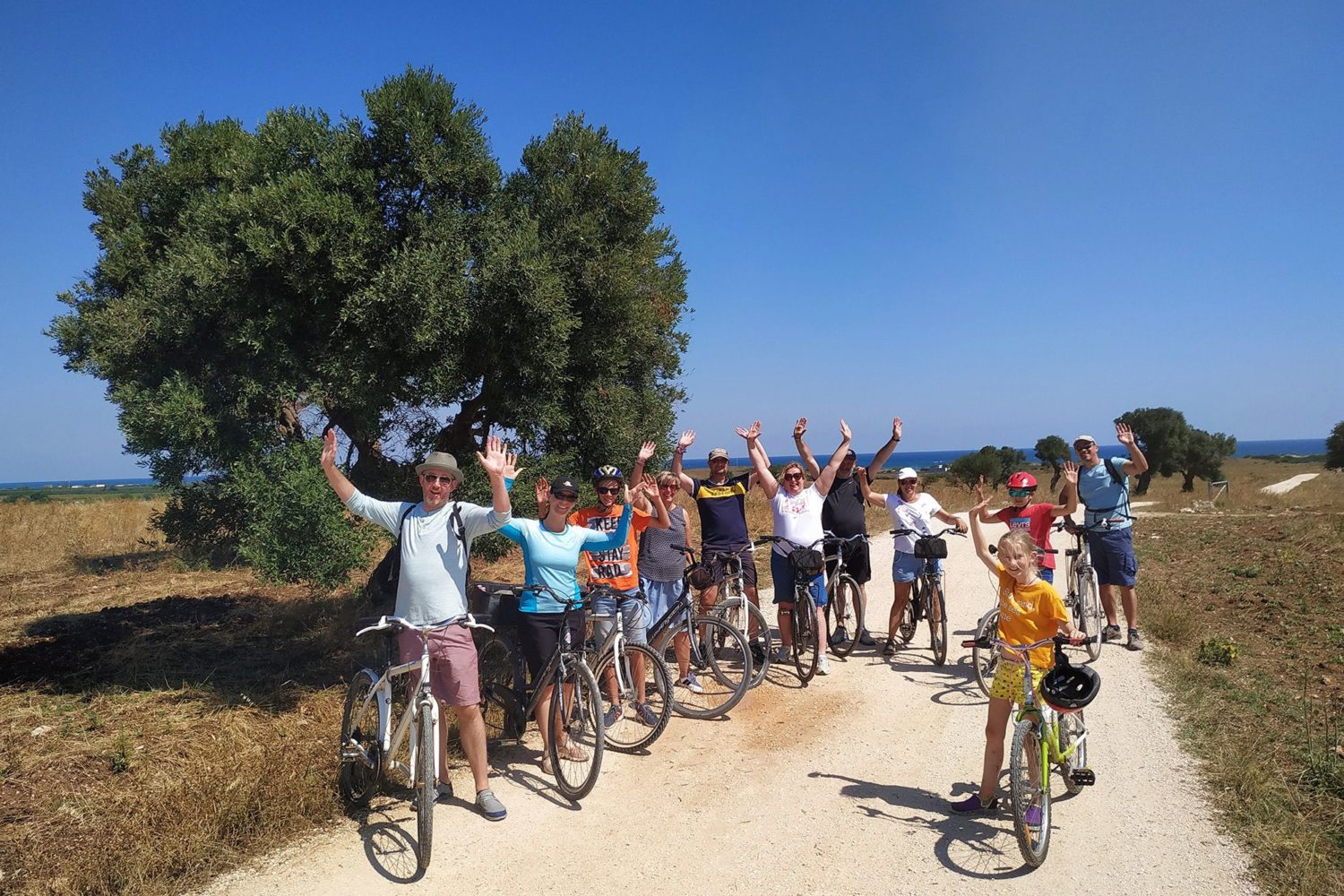 Apulia on bike tours