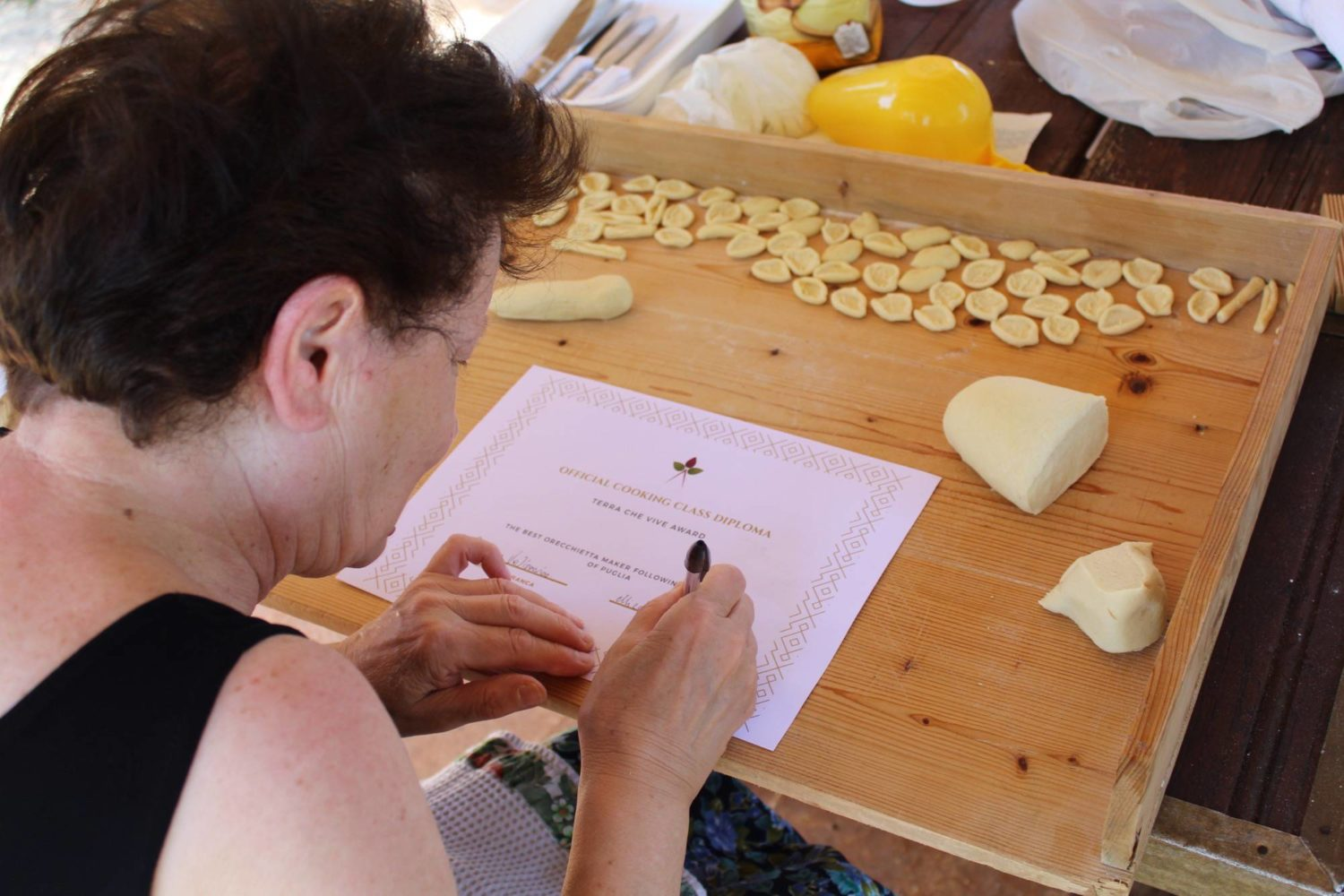 Culinary experience during holiday Puglia