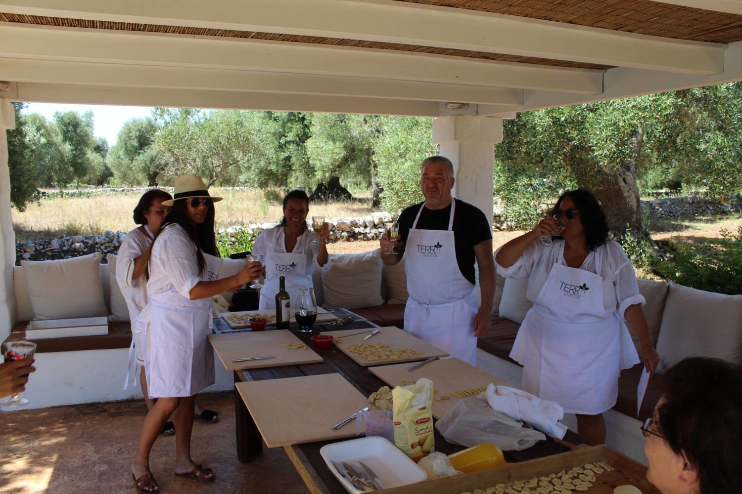 Food and wine activities during holiday Puglia