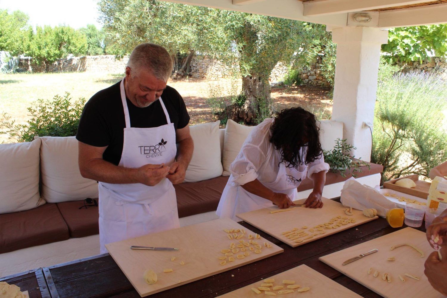 Gastronomic activities during holiday Puglia