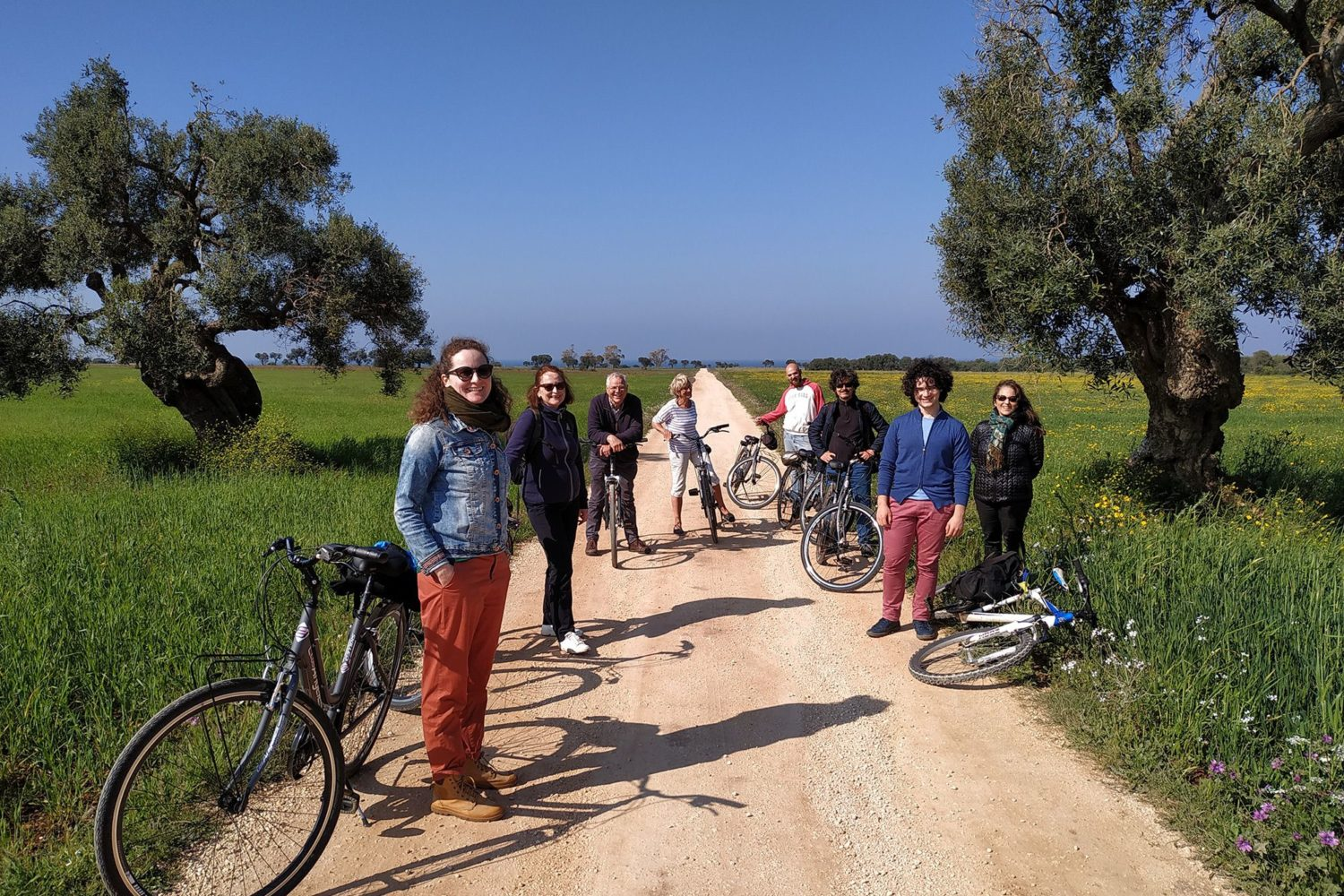 Pasta bike tour in Puglia