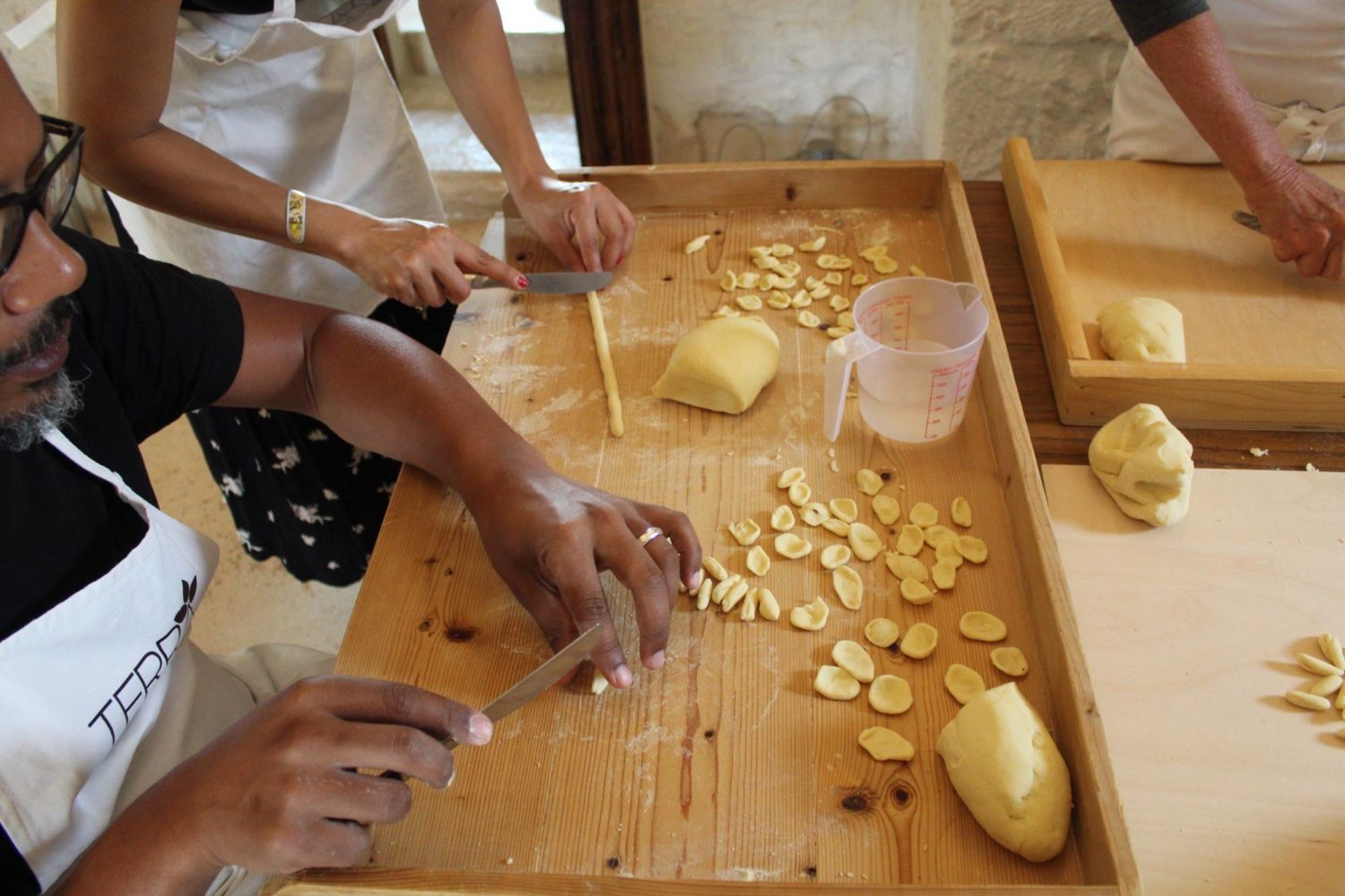 Tasting with Apulian dishes
