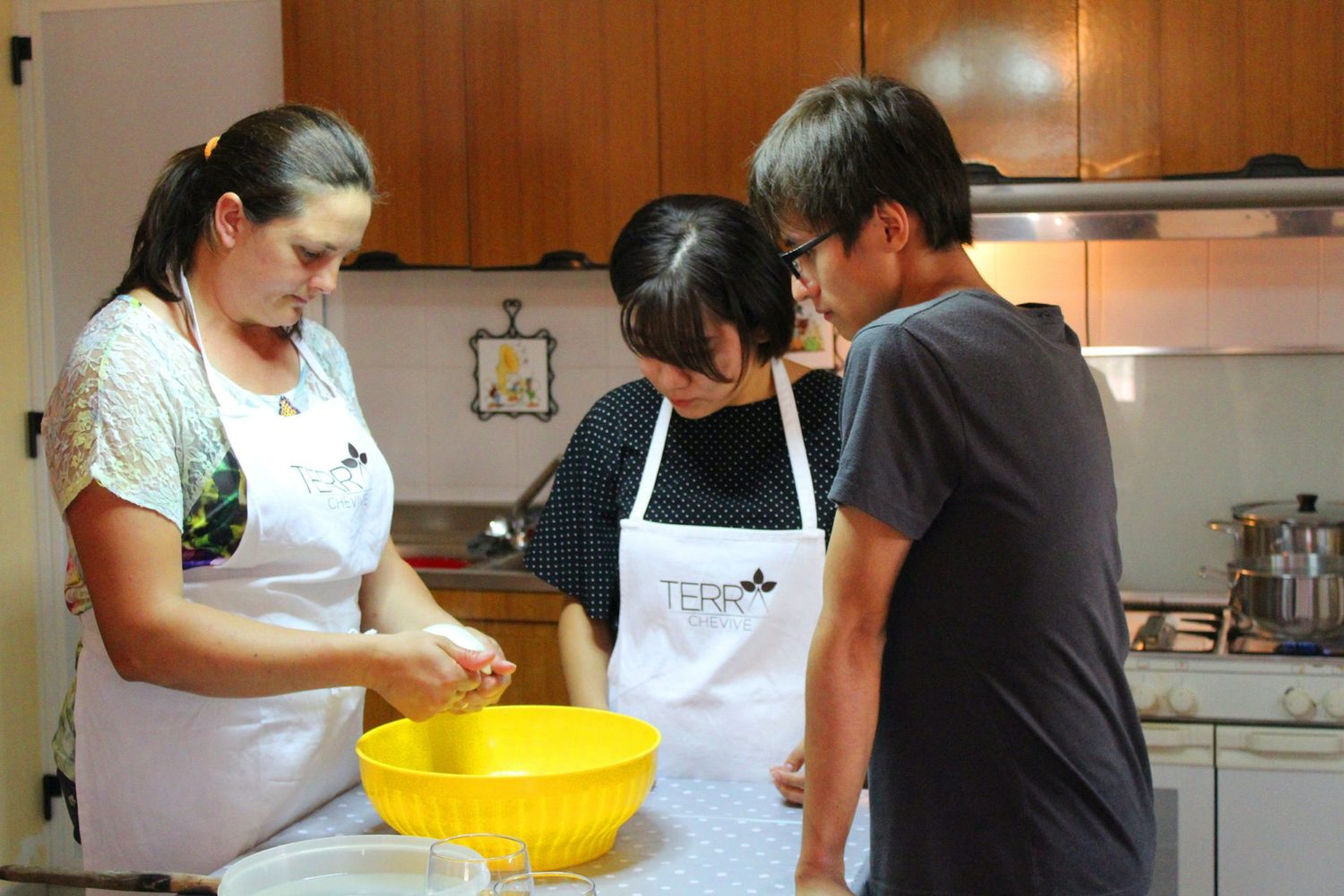 Burrata cooking class in Puglia