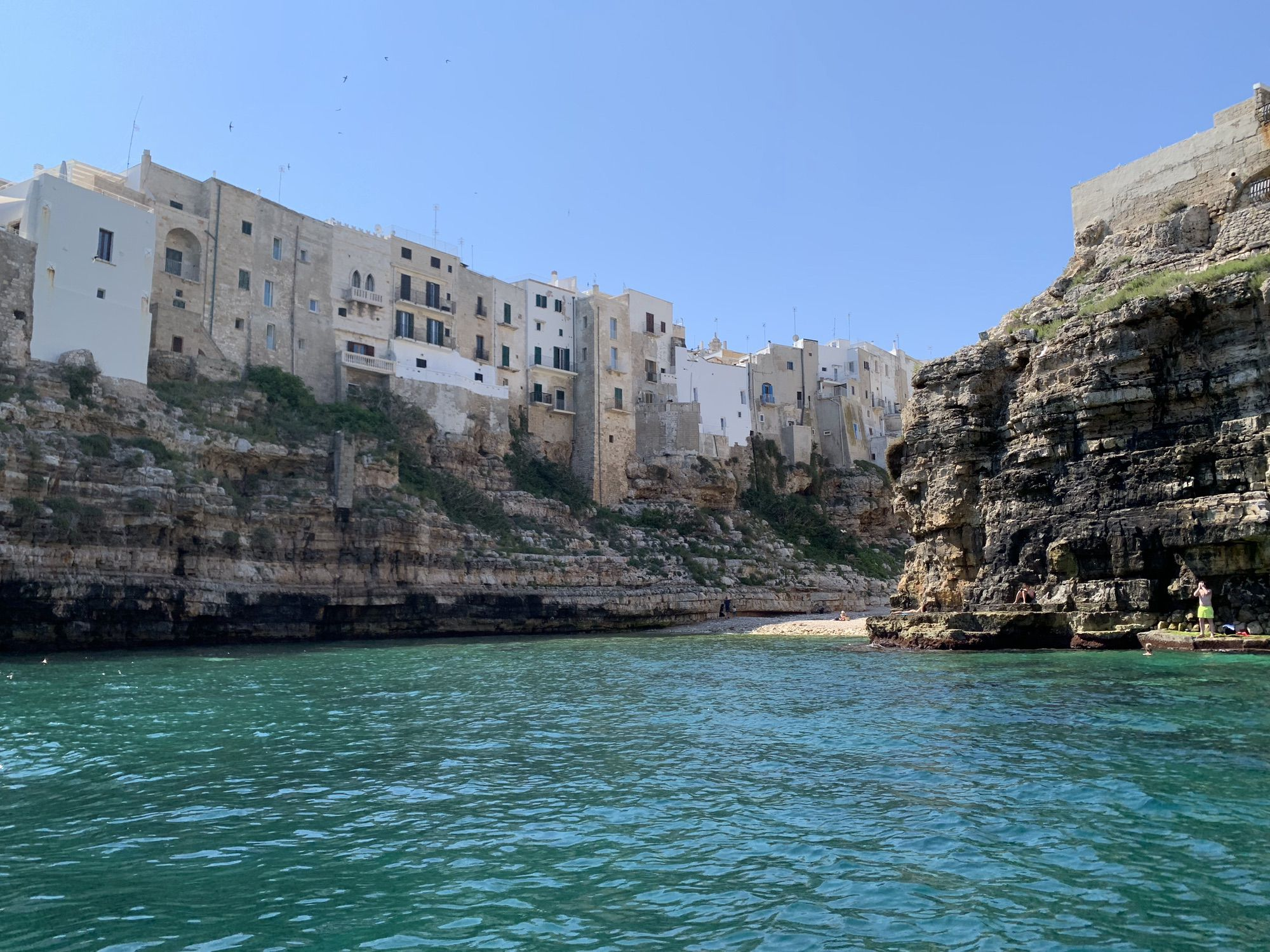 Polignano by the see tour
