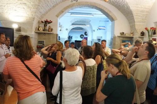 Degustazione olio evo frantoio Puglia