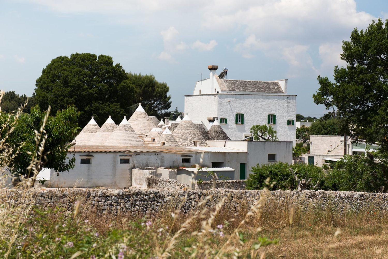 Masseria agriturismo tipica della Puglia