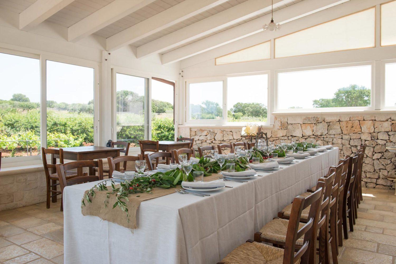 Masserie con degustazione in Puglia