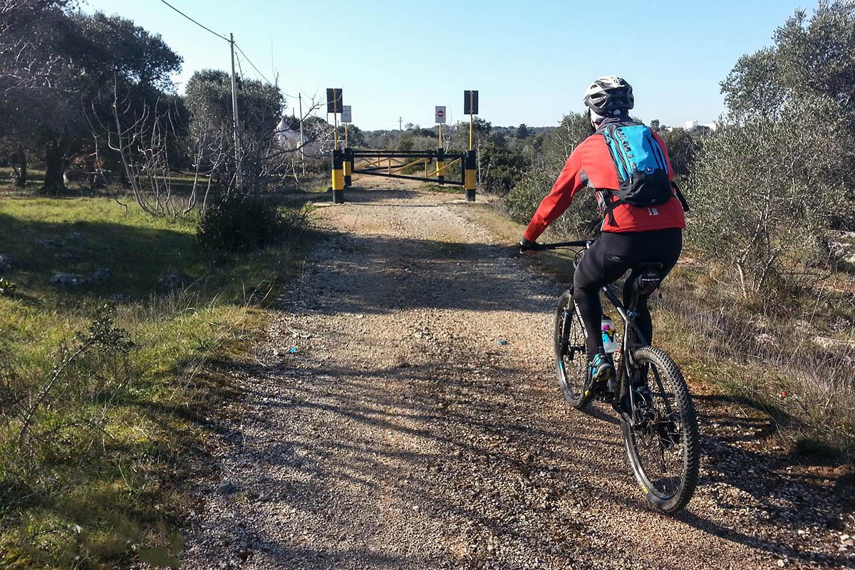 Escursione bici ciclovia dell'Acquedotto Pugliese