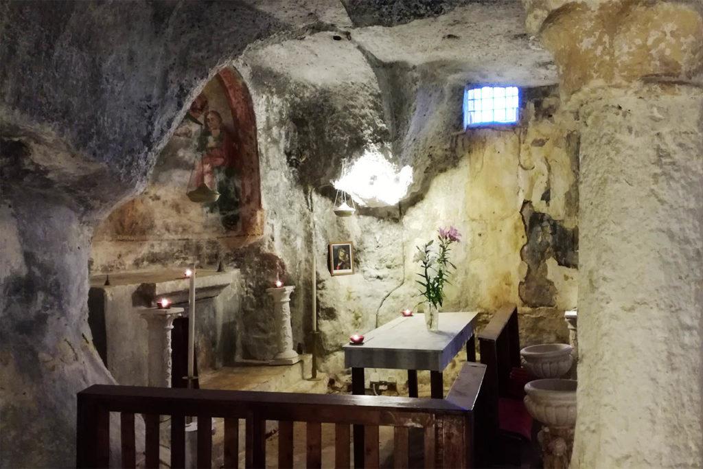 Chiesa rupestre a Monopoli Puglia