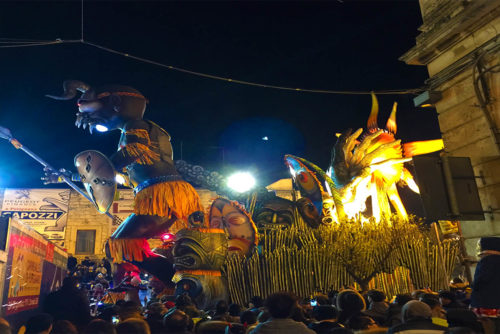 Carnevale a Putignano in Puglia