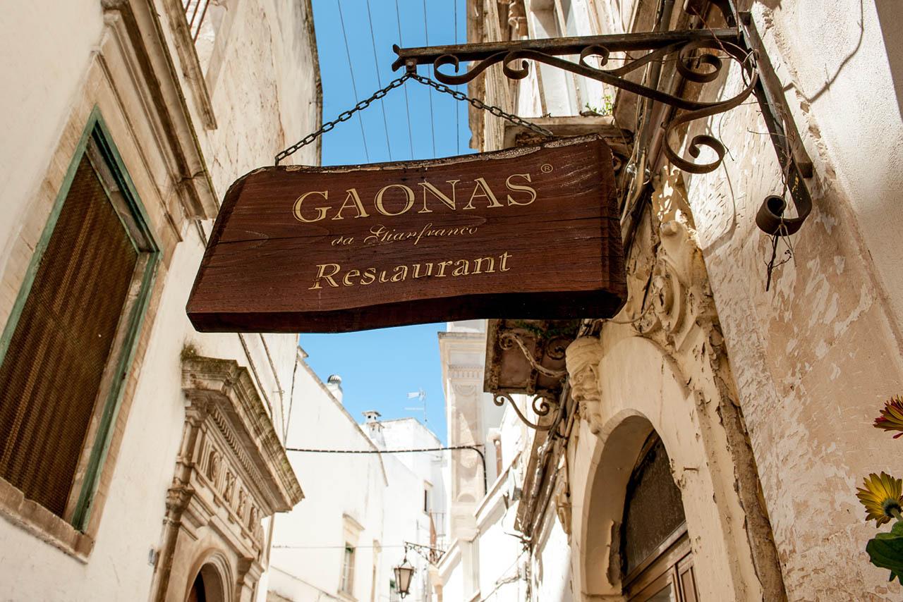 Migliori ristoranti tipici Gaonas Officine del gusto