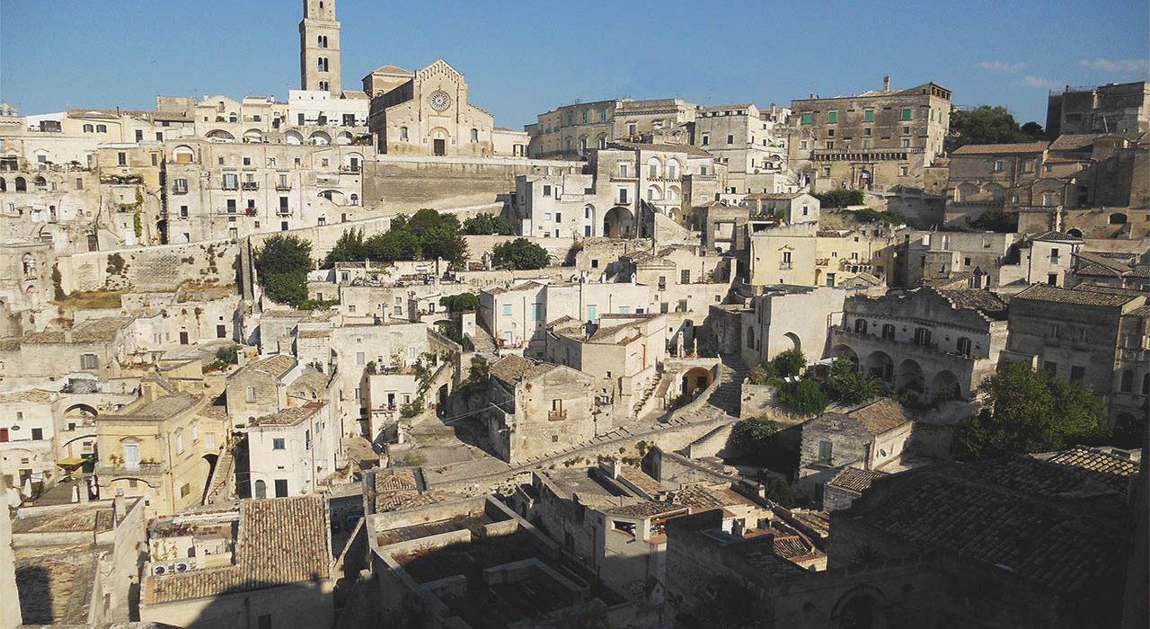The UNESCO sites of Puglia Matera