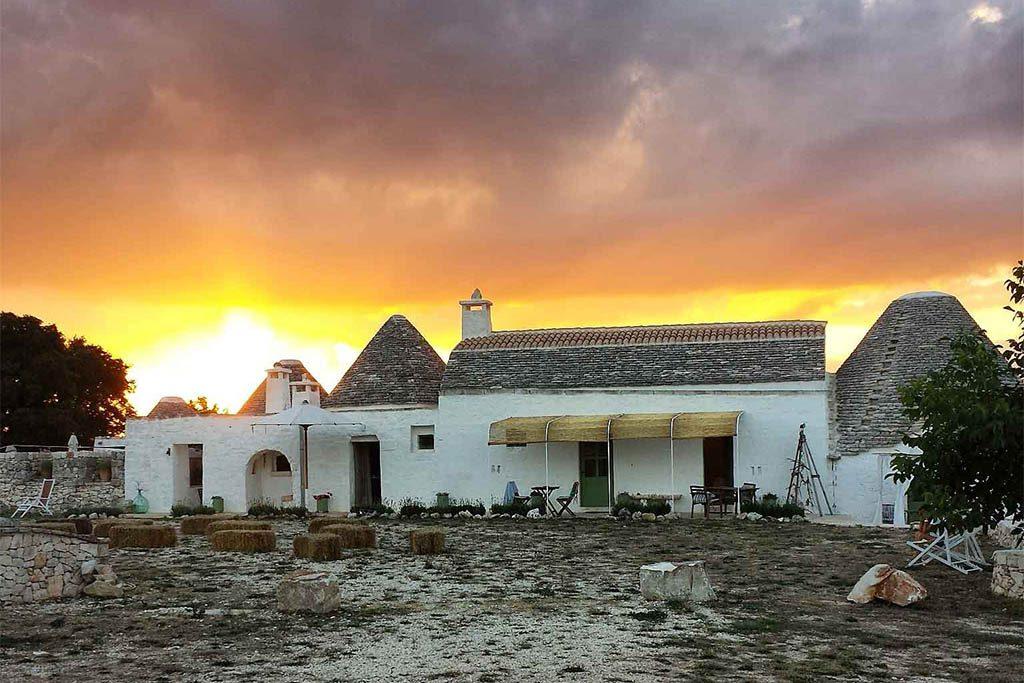 Le piu' belle masserie della Puglia immerse nella natura Masseria la casa degli uccellini
