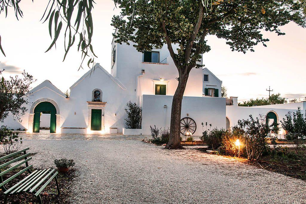 Le più belle masserie della Puglia immerse nella natura in Puglia Masseria San Michele