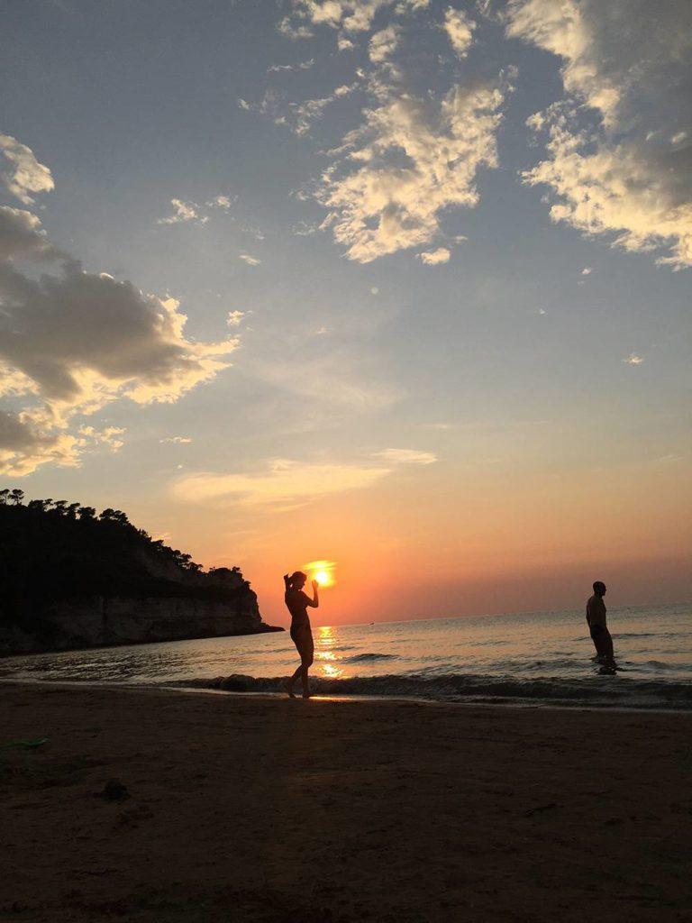 Viaggio di nozze e tramonti sulle spiagge della Puglia