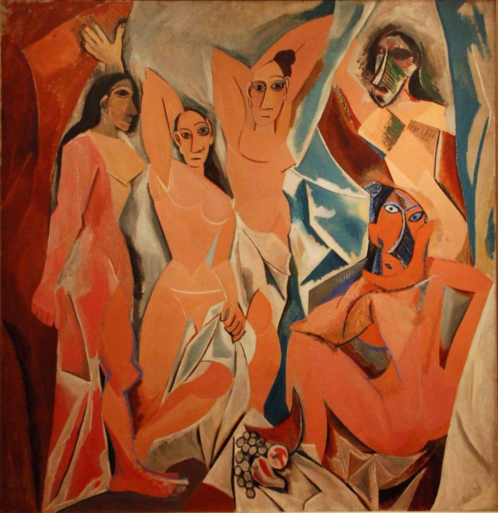 Les Demoiselles d'Avignon di Pablo Picasso