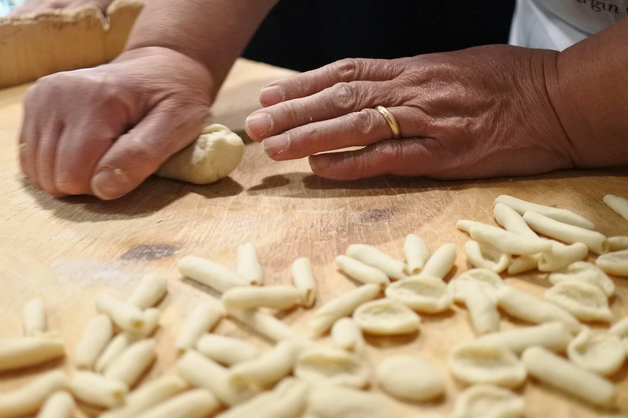 Lezione di cucina in masseria in Puglia