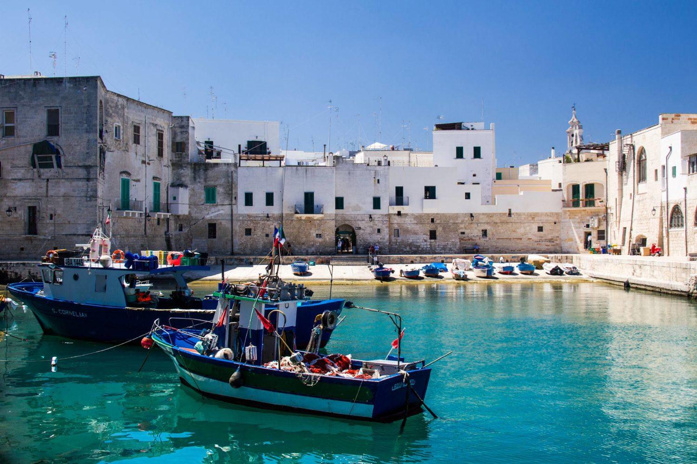 Centro storico e porto di Monopoli Puglia