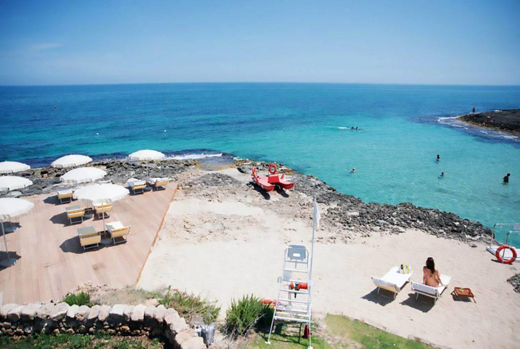 Spiaggia Masseria San Domenico 5 stelle lusso Puglia