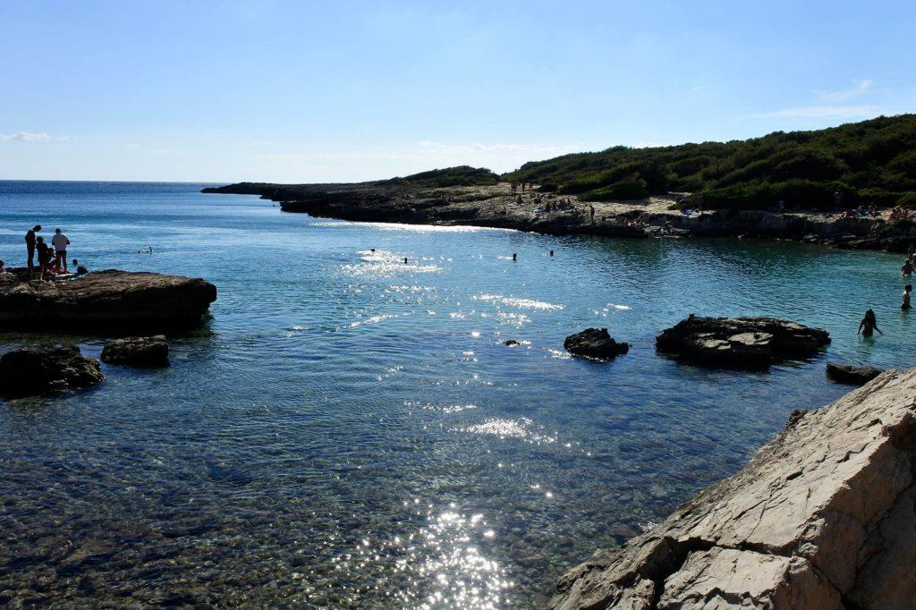 Spiaggia Porto Selvaggio Salento Puglia