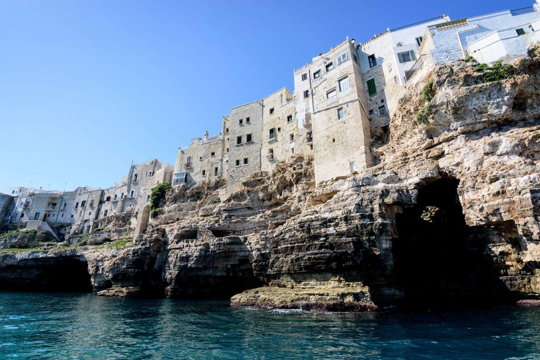 Polignano a Mare barca Puglia