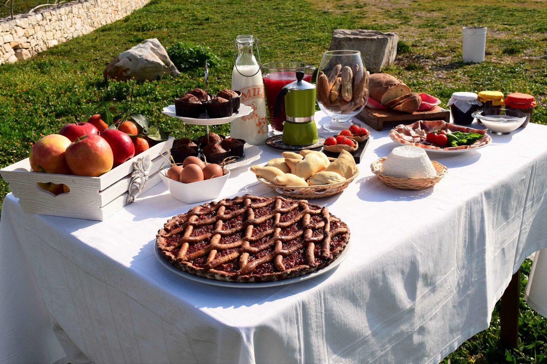 Degustazione di prodotti tipici pugliesi