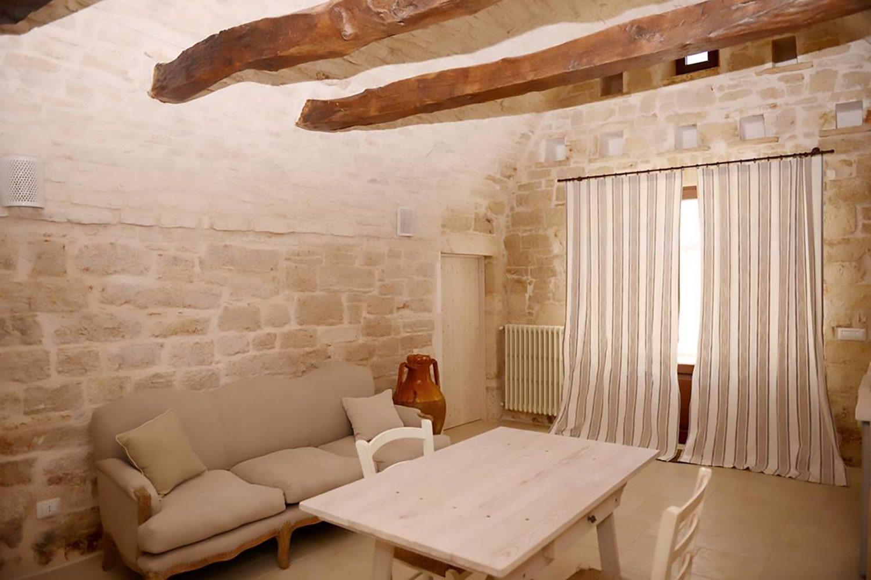 Soggiorno masseria tipica Puglia
