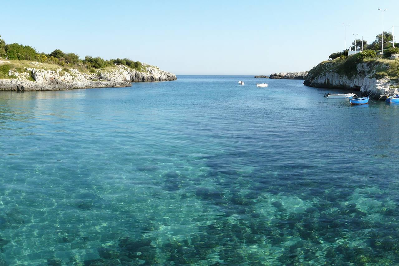 Otranto Porto Badisco Salento