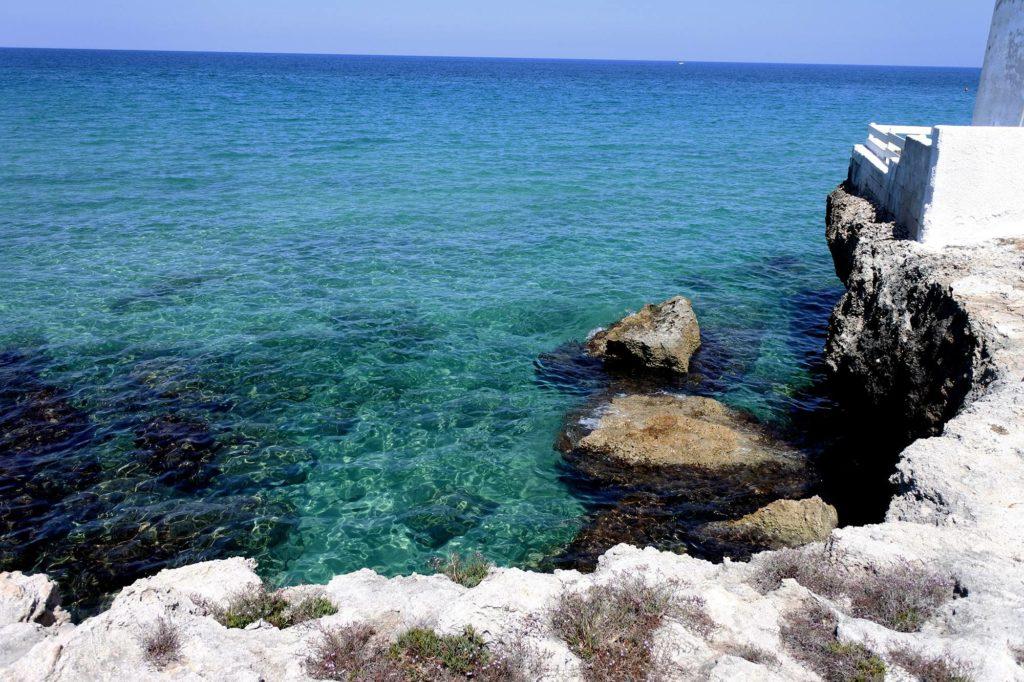 Spiagge con mare cristallino in puglia