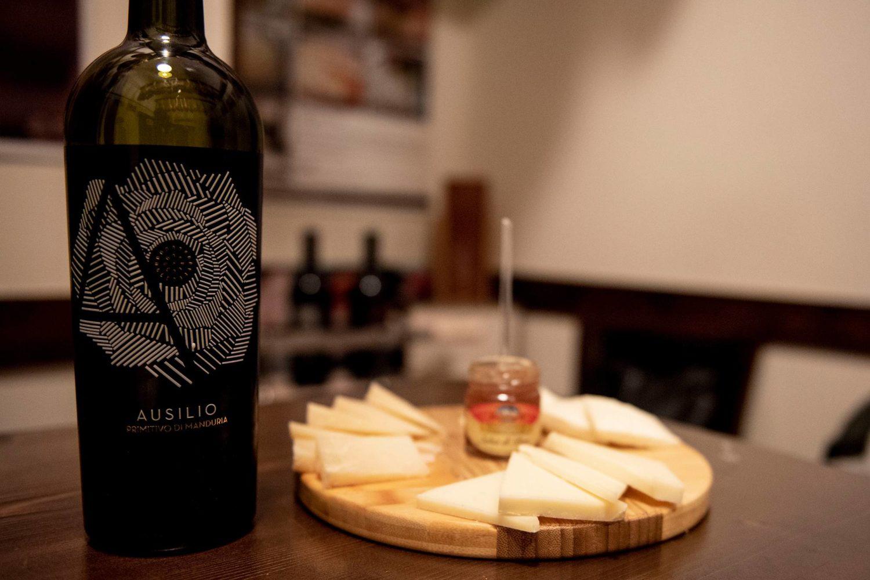Degustação de queijos na Puglia