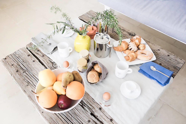 Masseria Alchimia colazione prodotti tipici