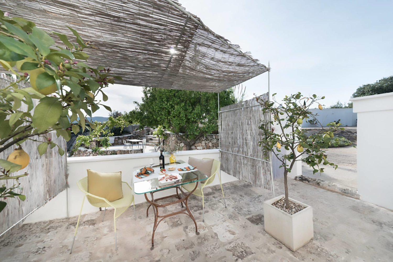 Masserie con patio privato Puglia