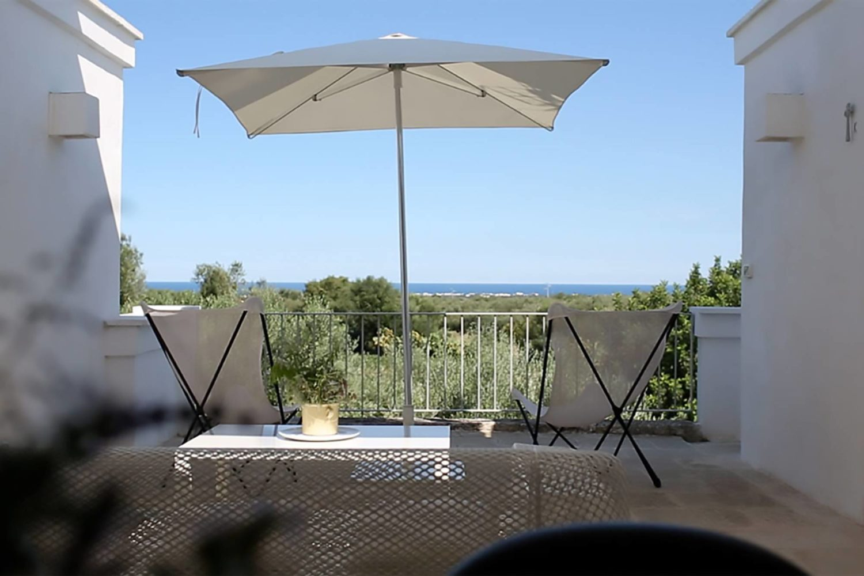Masseria con vista sul mare Puglia
