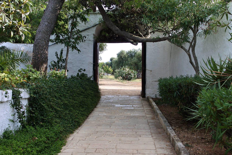 Masseria Brancati Ostuni portale