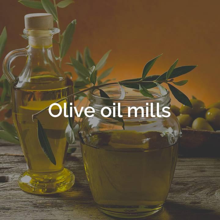 Olive oil mills box Terra che Vive