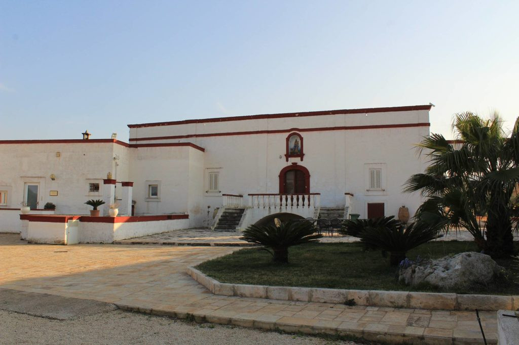 Ancient Apulian masseria farmhouse