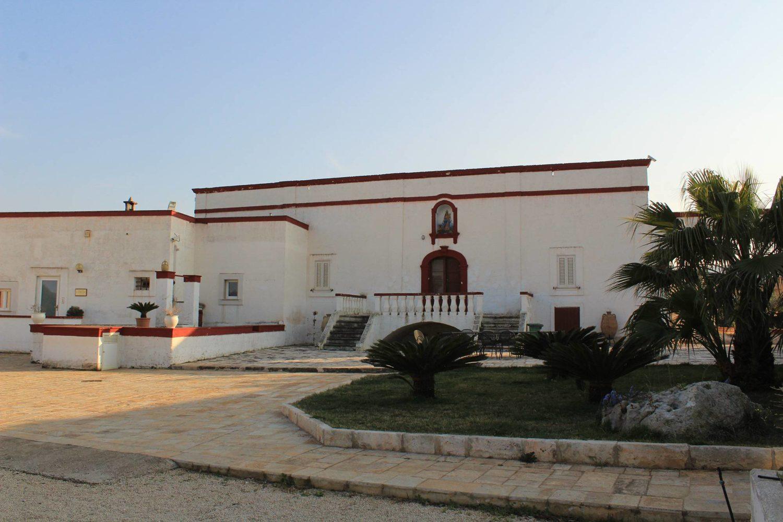 Ancient Apulian masseria farmhouse
