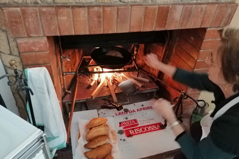 Apulian deep fried panzerotti