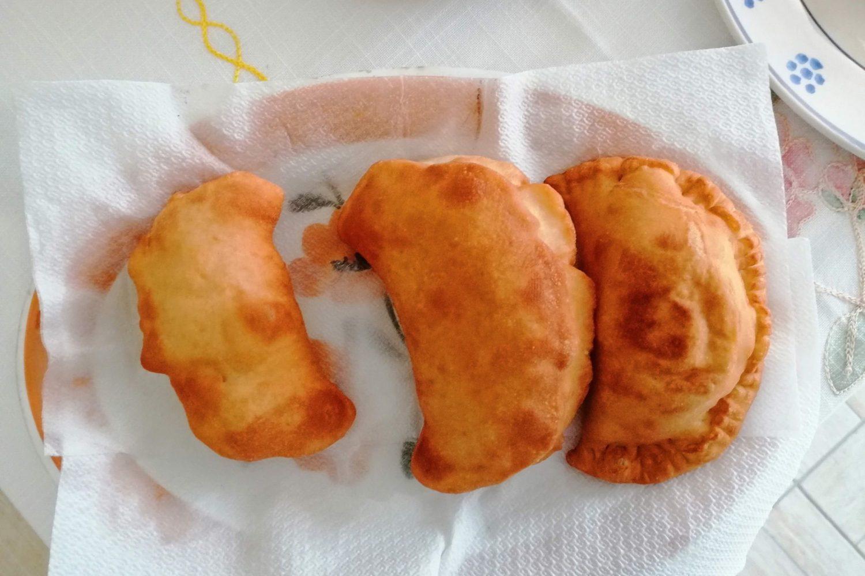 Deep fried panzerotti Puglia