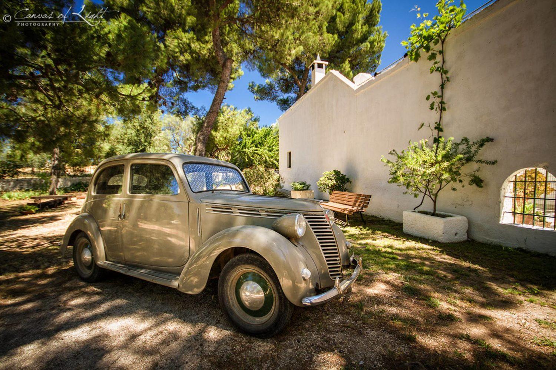 Tour vintage car in Puglia