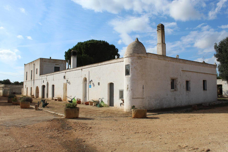 Ancient rural farm in Puglia