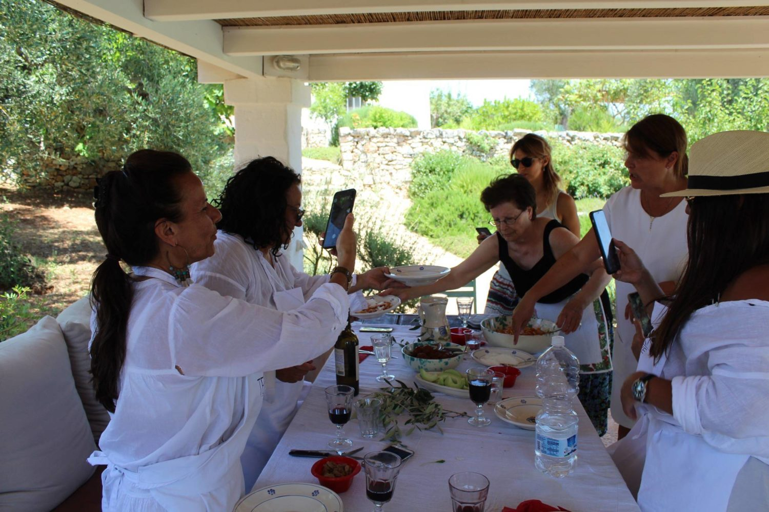 Chef service private dinners lunches Puglia
