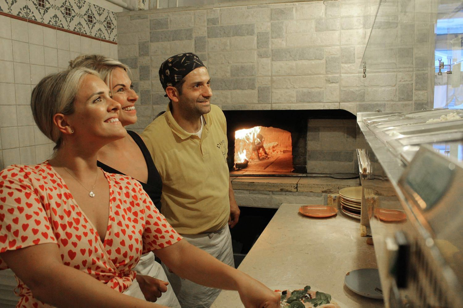 Pizza making experience in Puglia